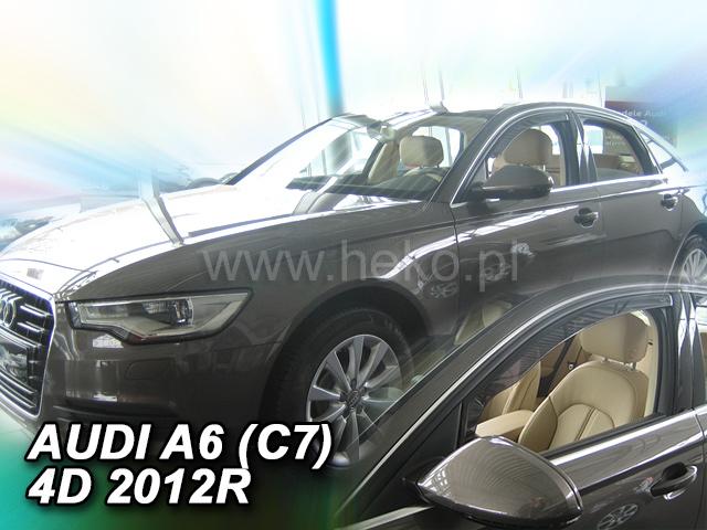 Heko • Ofuky oken Audi A6 2011- sed • sada 2 ks