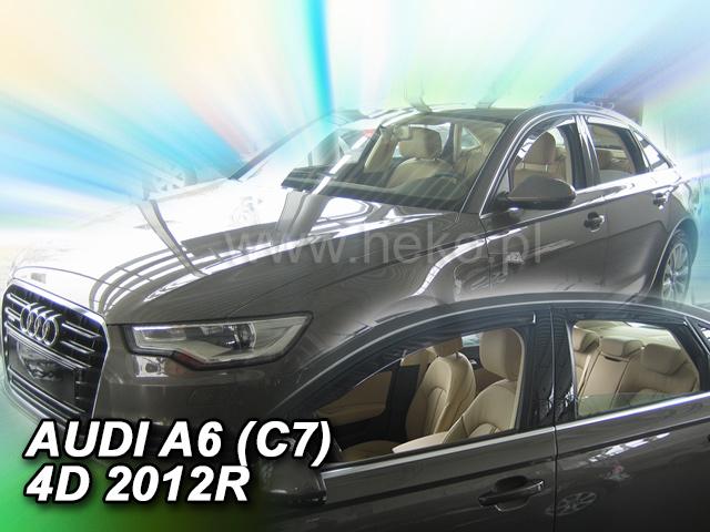 Heko • Ofuky oken Audi A6 2011- (+zadní) sed • sada 4 ks