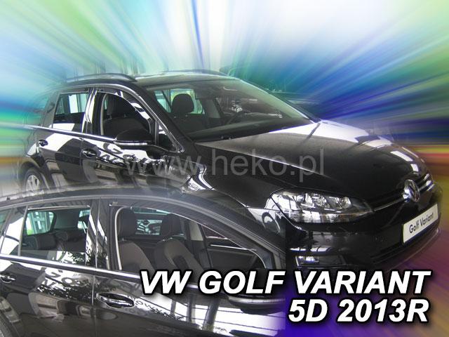 Heko • Ofuky oken Volkswagen VW Golf VII 2013- (+zadní) variant • sada 4 ks