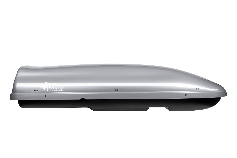 Střešní box Whale 200 • Neumann • stříbrný lesklý