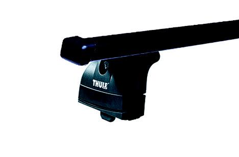 Střešní nosiče(příčníky) Thule 753+čtyřhranné tyče 760+kit