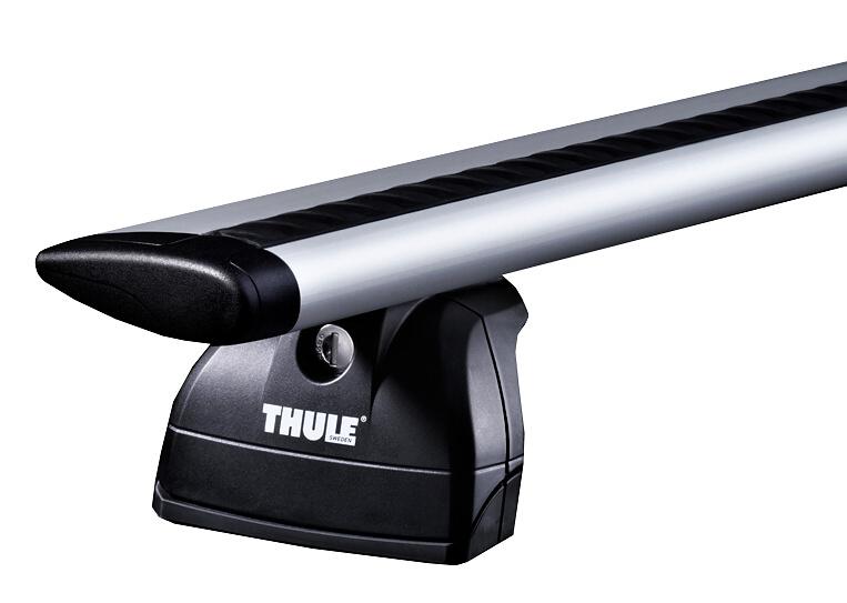 Střešní nosiče(příčníky) Thule 753+Wingbar tyče 962+kit