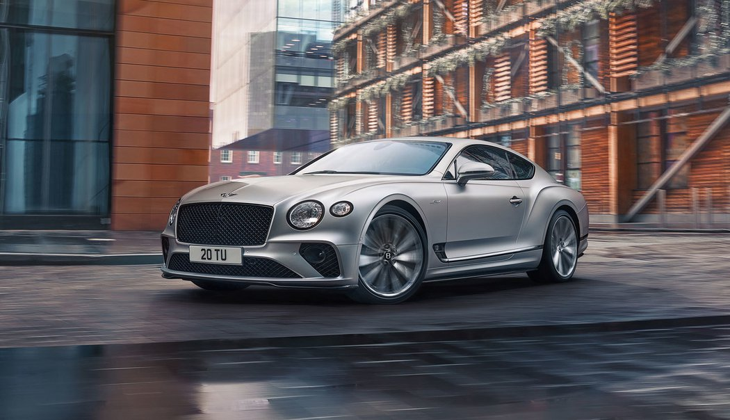 Bentley Continetal GT - nejdynamičtější model v historii značky
