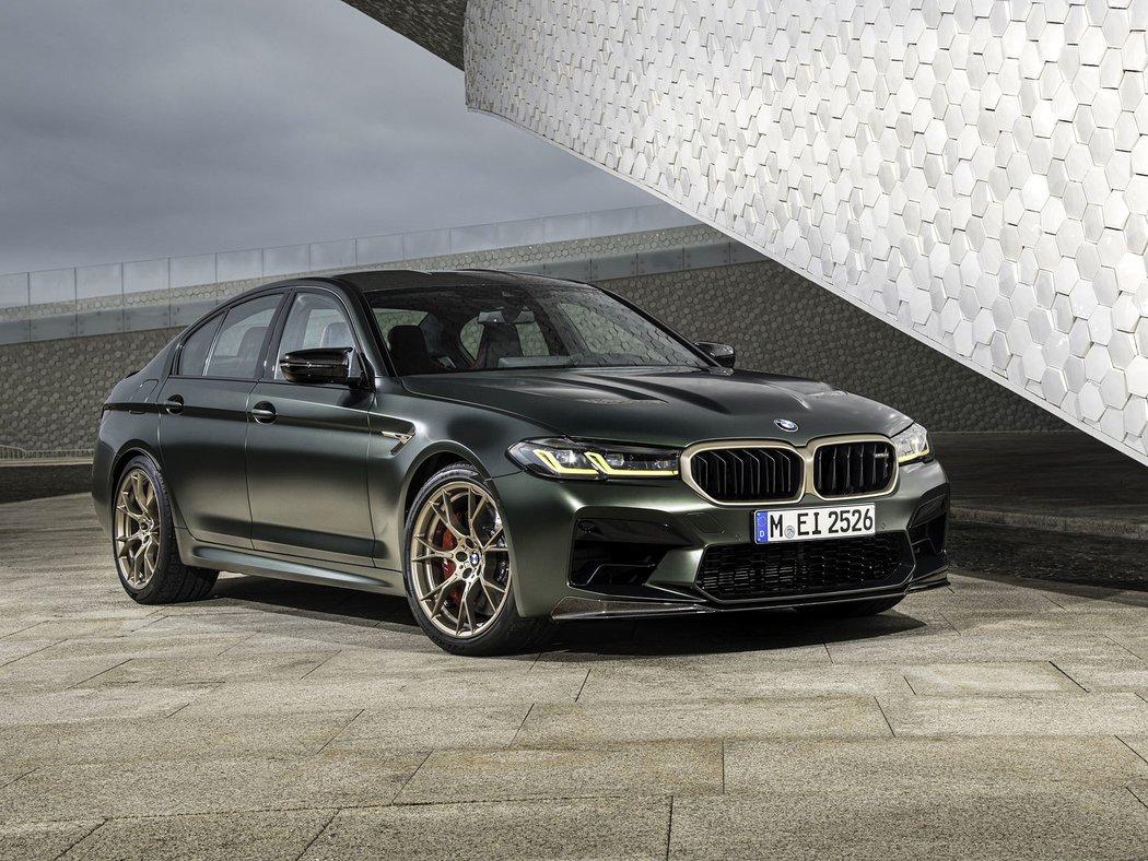 BMW M5 CS - představení nejsilnějšího eMka v historii