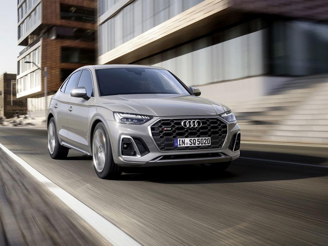 Audi SQ5 Sportback - Sportovní SUV kupé sází na prověřený turbodiesel TDI
