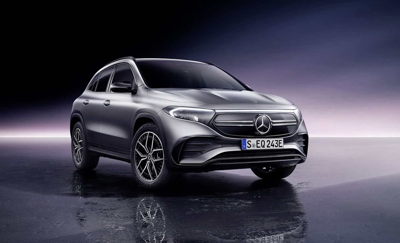 Mercedes - Benz EQA  - premiéra nového elektrického crossoveru