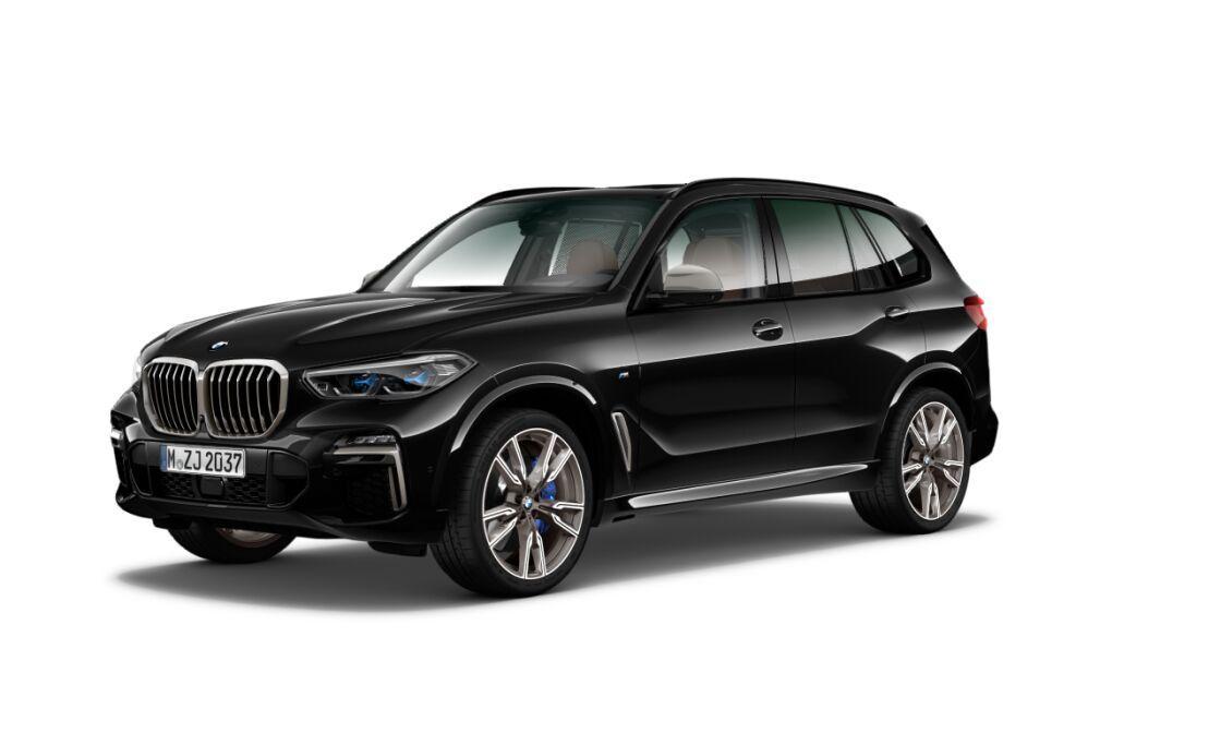 BMW X5 M50d xDrive - nové české auto skladem - černé s hnědou kůží - max výbava - super cena 2.519.000,- Kč bez DPH