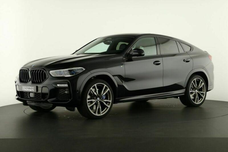 BMW X6 M50D xDrive - černo/černé německé předváděcí auto v maximální výbavě ihned k předání za super cenu
