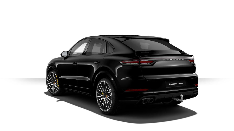 Luxusní prémiové auto PORSCHE CAYENNE TURBO COUPÉ