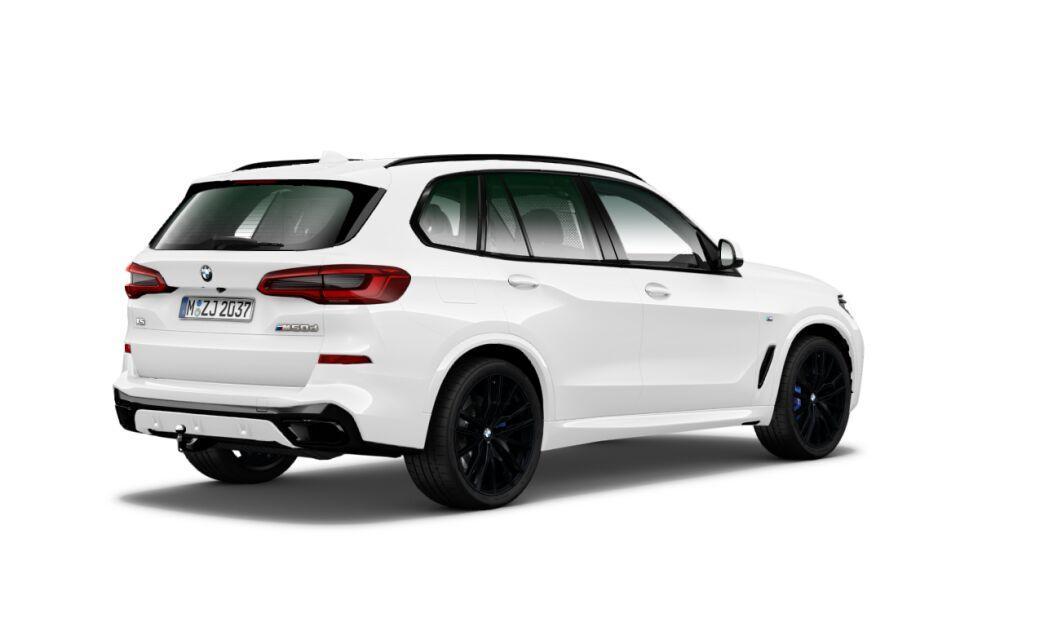 BMW X5 M50d xDRIVE - bílá alpine