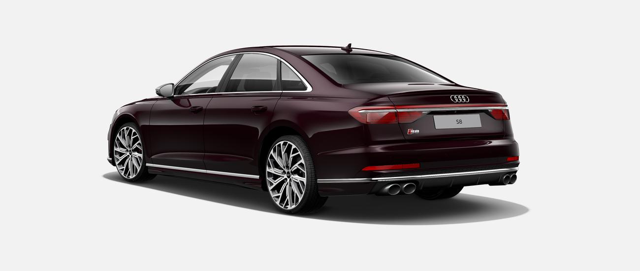 AUDI S8 V8 BiTurbo   benzin 570 koní   nový vůz   skvělá výbava   super cena   nákup online   virtuální autosalon  
