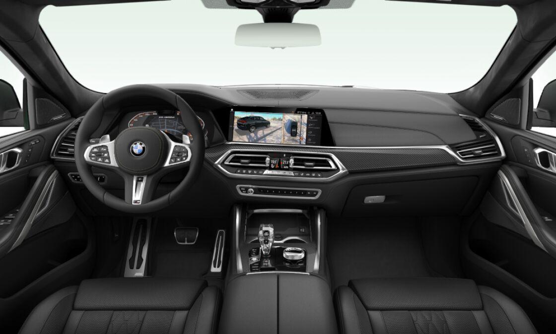 BMW X6 M50d - novinka - skladem - sportovní SUV coupé - nafta 400 koní