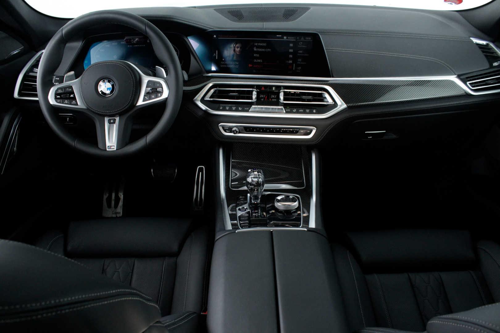 BMW X6 M50d - nový model - předváděcí auto - skladem - max výbava - super cena 2.269.000,- Kč bez DPH
