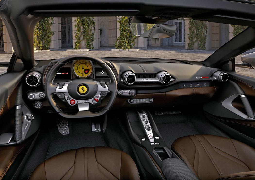 Luxusní prémiové sportovní FERRARI F8 SPIDER & 812 GTS - novinka 2020