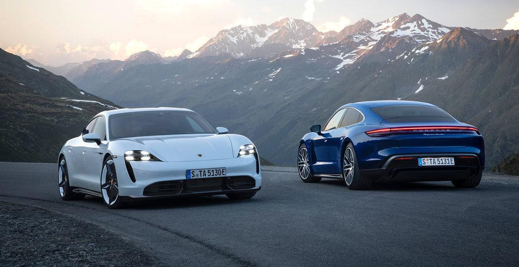 Konfigurátor luxusních prémiových vozů Porsche