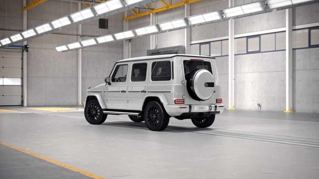 MERCEDES G 400d - nové Géčko nafta 330 koní - maximální výbava - objednání online