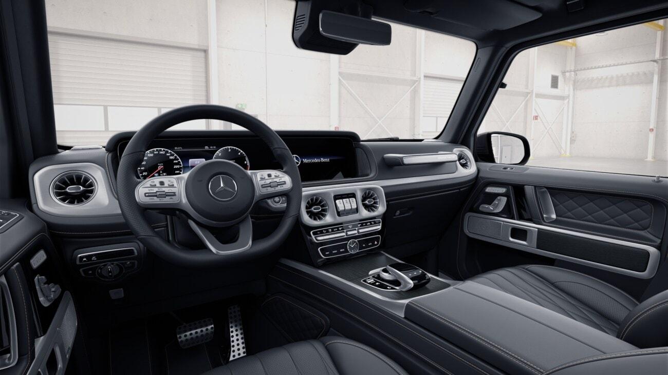 MERCEDES G 400d - nové benzínové Géčko - maximální výbava - objednání online