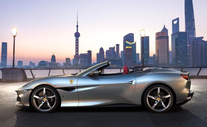 Ferrari Portofino - novinka, modernizované Ferrari.