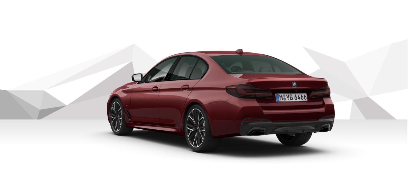 BMW 540d xDRIVE Mpaket - červená Aventurine metalíza - autoibuy.com