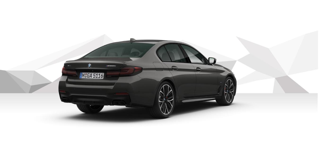 BMW M550i xDRIVE - šedá Sophisto Grey - autoibuy.com