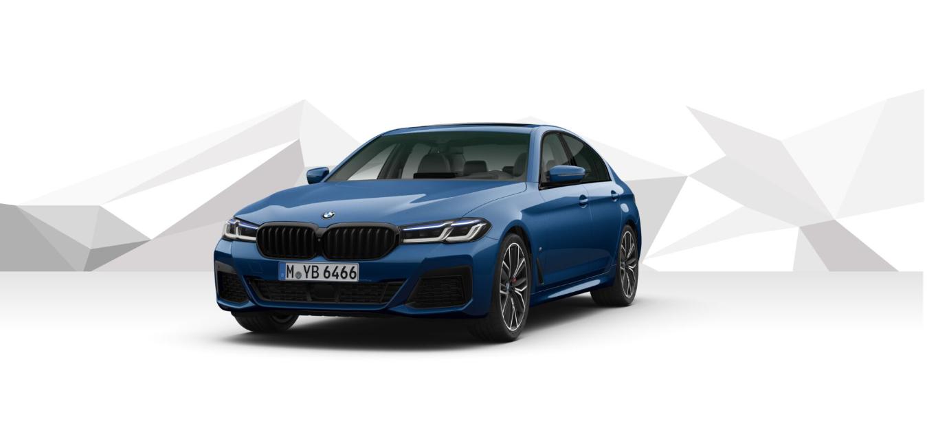 BMW 540d xDRIVE Mpaket - modrá Pythonic Blue - autoibuy.com