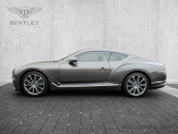 Luxusní prémiové sportovní BENTLEY CONTINENTAL GT - šedá metalíza