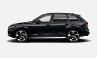 Luxusní prémiové sportovní AUDI Q7 50 TDI QUATTRO S-LINE - černá orca metalíza | AUTOiBUY.com