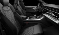 Prémiové luxusní sportovní AUDI Q7 50 TDI QUATTRO S-LINE - bílá glacier metalíza