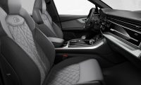 Luxusní AUDI SQ7 TDI QUATTRO - šedá daytona s perletí