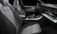 Luxusní prémiové AUDI SQ7 TDI QUATTRO - červená mattador metalíza