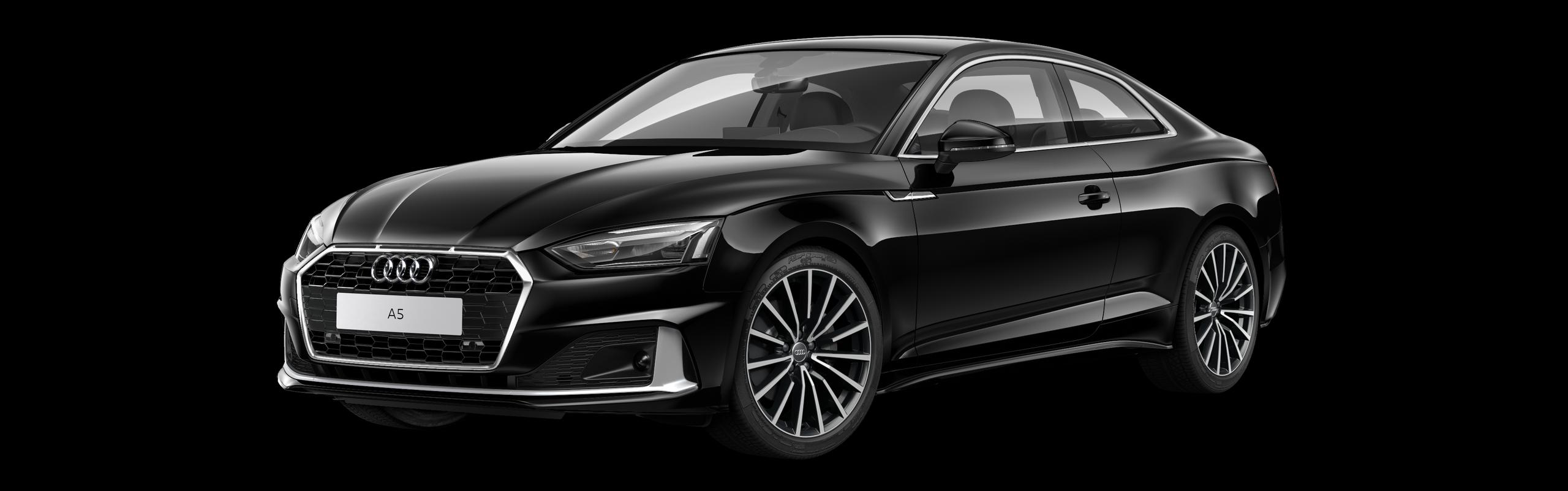 AUDI A5 COUPÉ 40 TDI S-TRONIC - černá Mythos metalíza