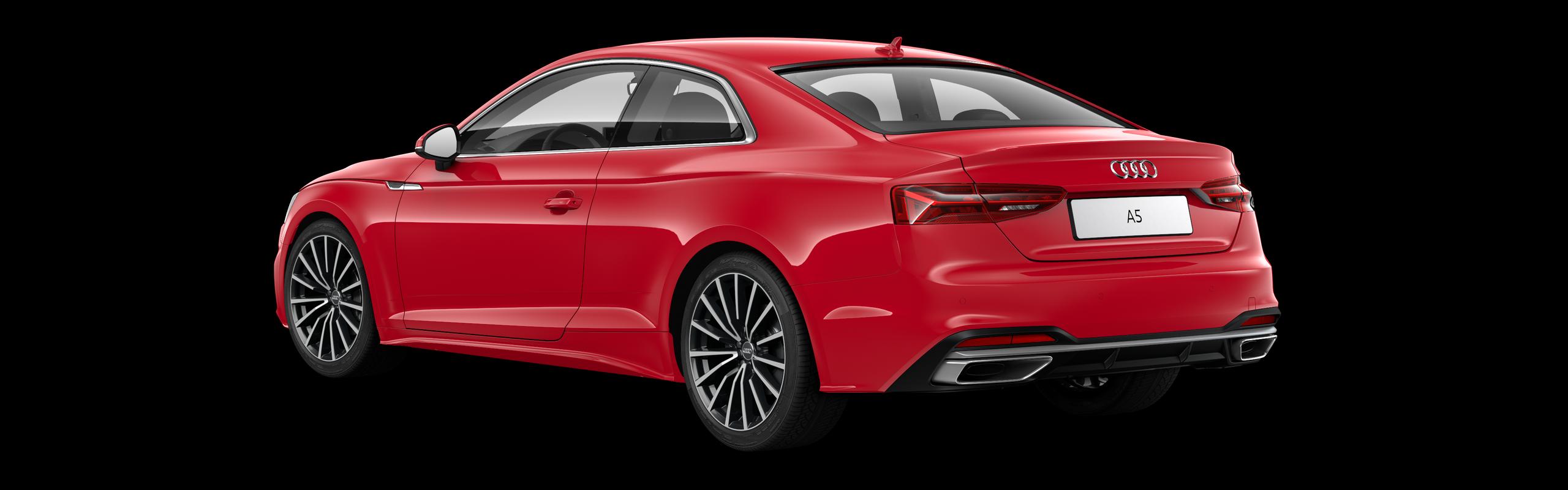 AUDI A5 COUPÉ 40 TDI S-TRONIC - červená Tango metalíza