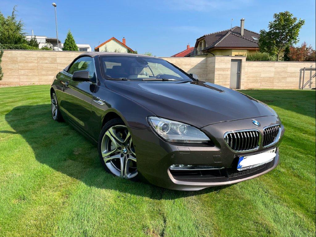 BMW 650i cabriolet | sportovně luxusní cabrio | české auto po prvním majiteli | top stav | skladem | luxusní provedení | nákup online | AUTOiBUY.com