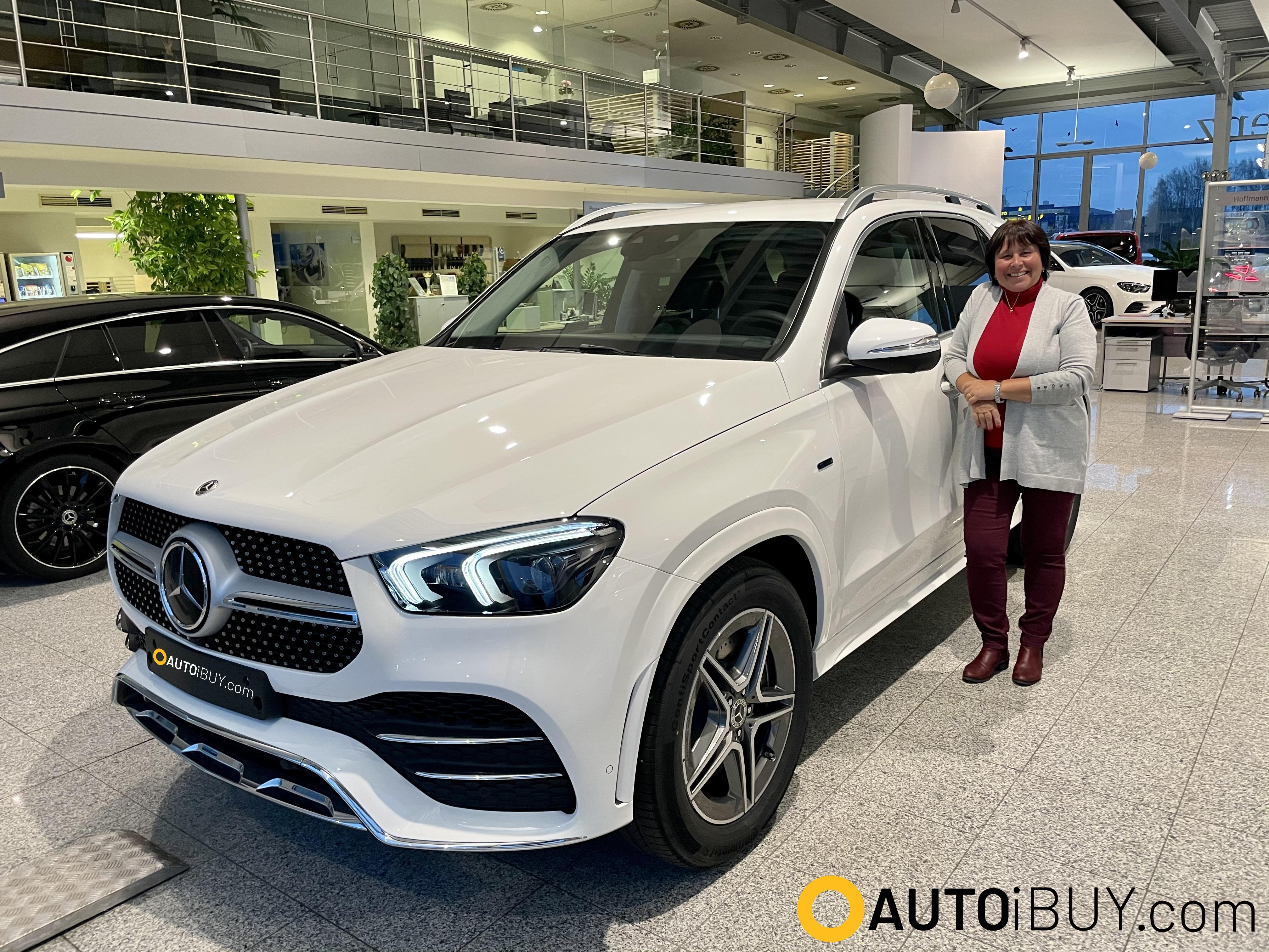 Mercedes GLE 350 de hybrid AMG | předání klientovi | nové hybridní SUV | reference