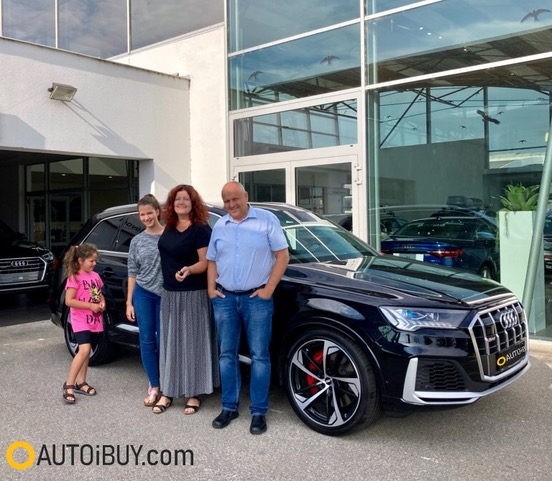 Audi SQ7 TDI | nové sportovní SUV | předání klientovi | nafta V8 biturbo 435 koní | nákup online