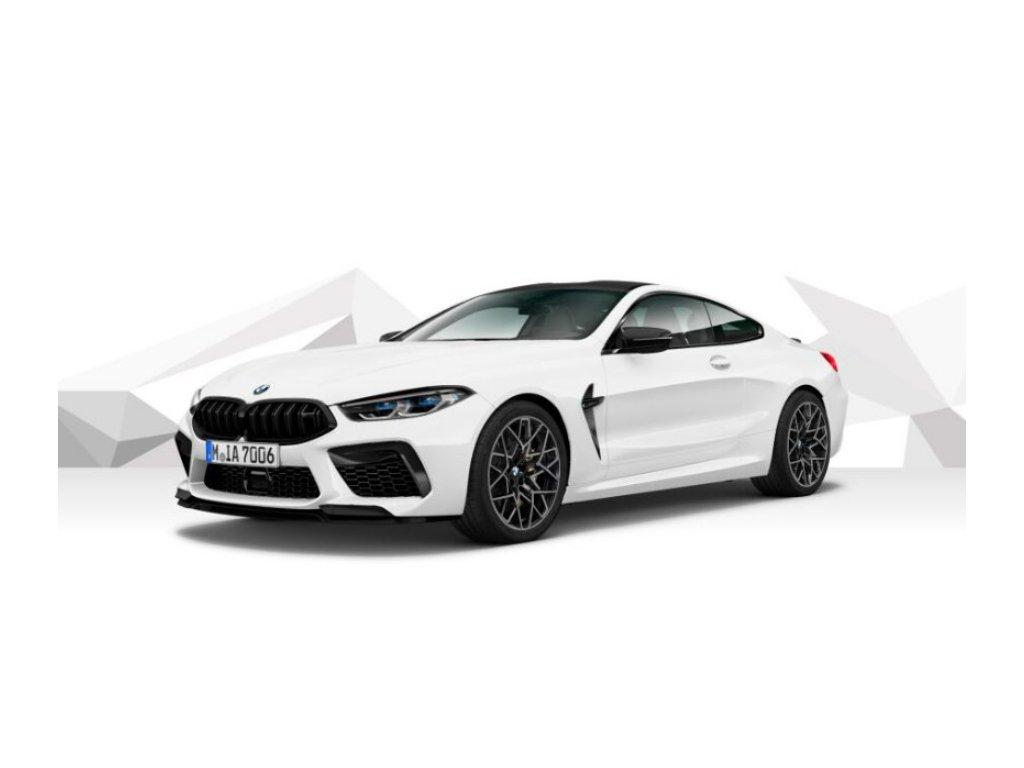 BMW M8 COUPÉ COMPETITION - bílá Alpine