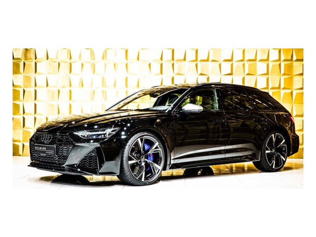 AUDI RS6 AVANT QUATTRO TIPTRONIC - černá Mythos metalíza