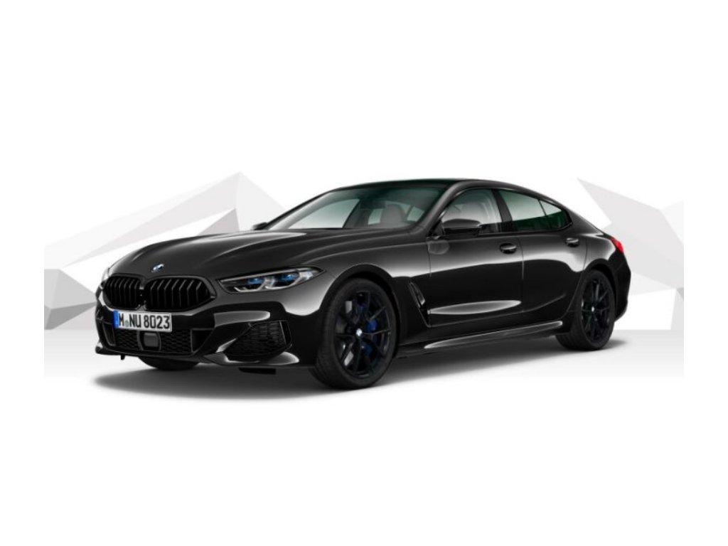 BMW 840d xDRIVE GRAN COUPÉ Mpaket - černá metalíza sapphire