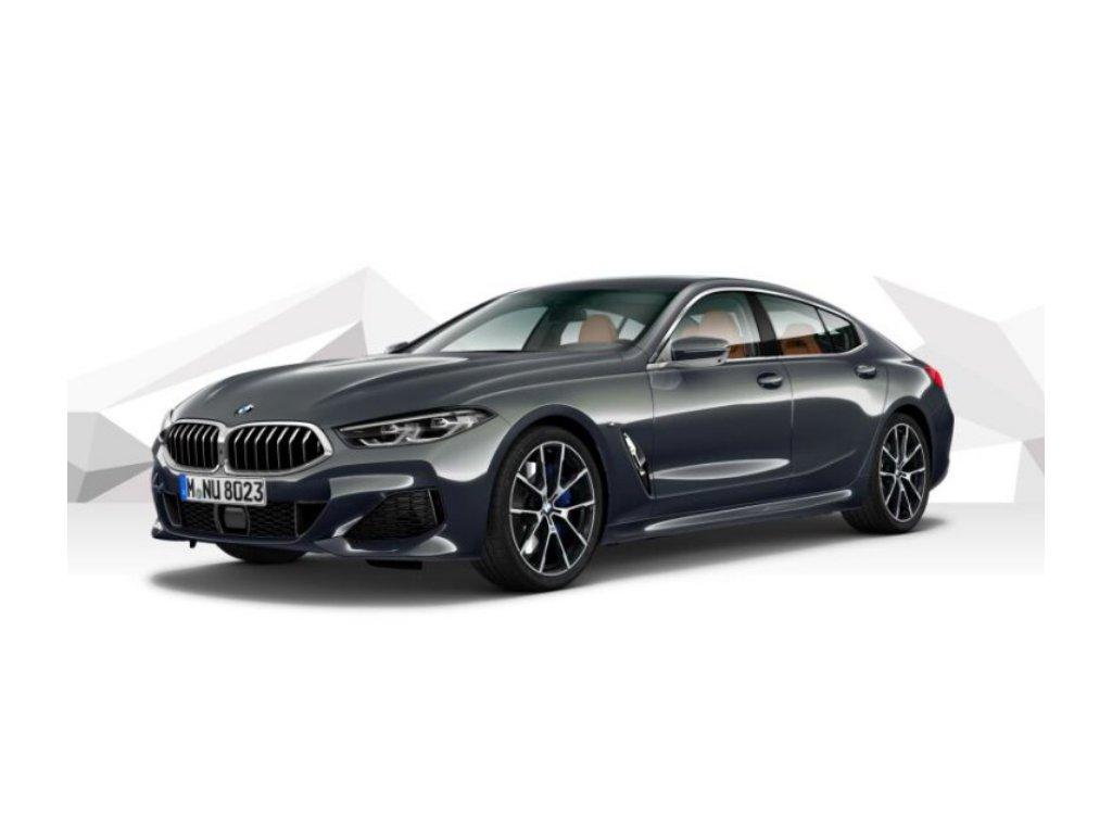 BMW 840d xDRIVE GRAN COUPÉ Mpaket - šedá metalíza dravit