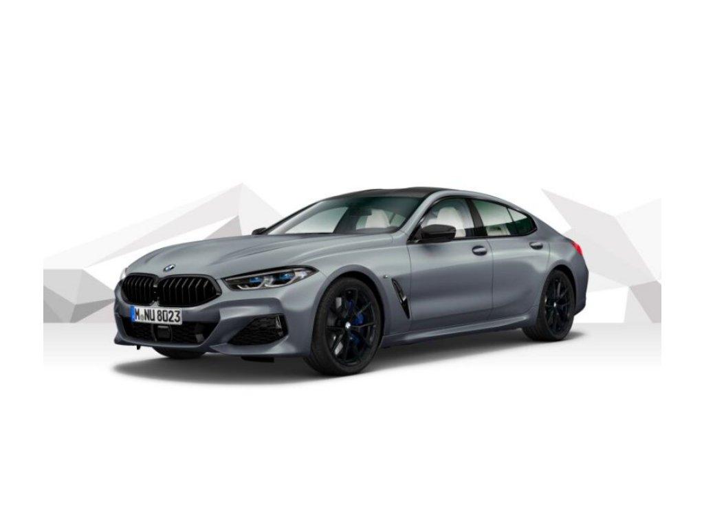 BMW 840d xDRIVE GRAN COUPÉ Mpaket - šedá matná frozen