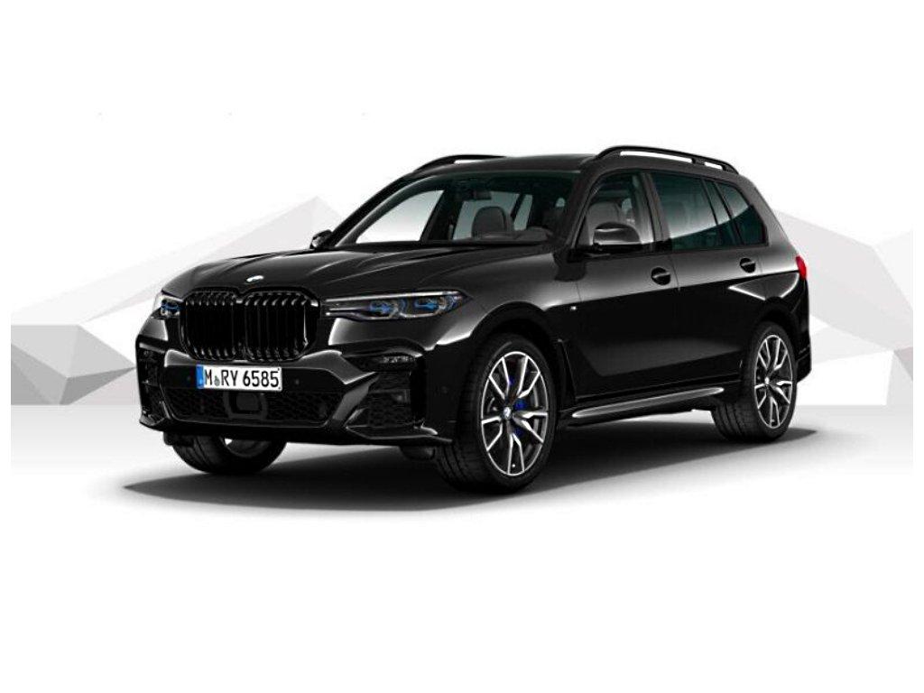 BMW X7 30d xDRIVE Mpaket - černá metalíza sapphire