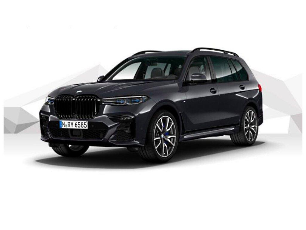 BMW X7 30d xDRIVE Mpaket - šedá metalíza arctic