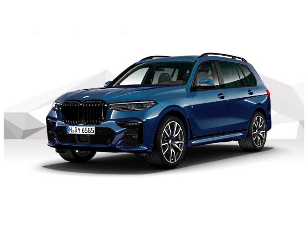 BMW X7 30d xDRIVE Mpaket - modrá metalíza phytonic