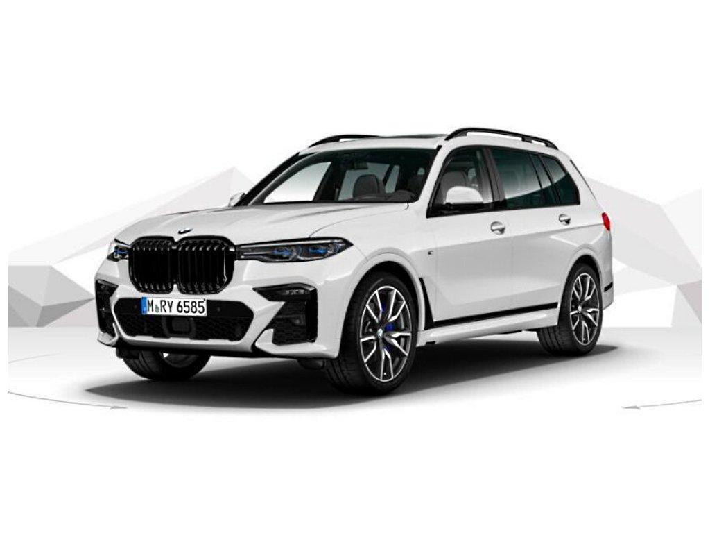 BMW X7 30d xDRIVE Mpaket - bílá metalíza mineral