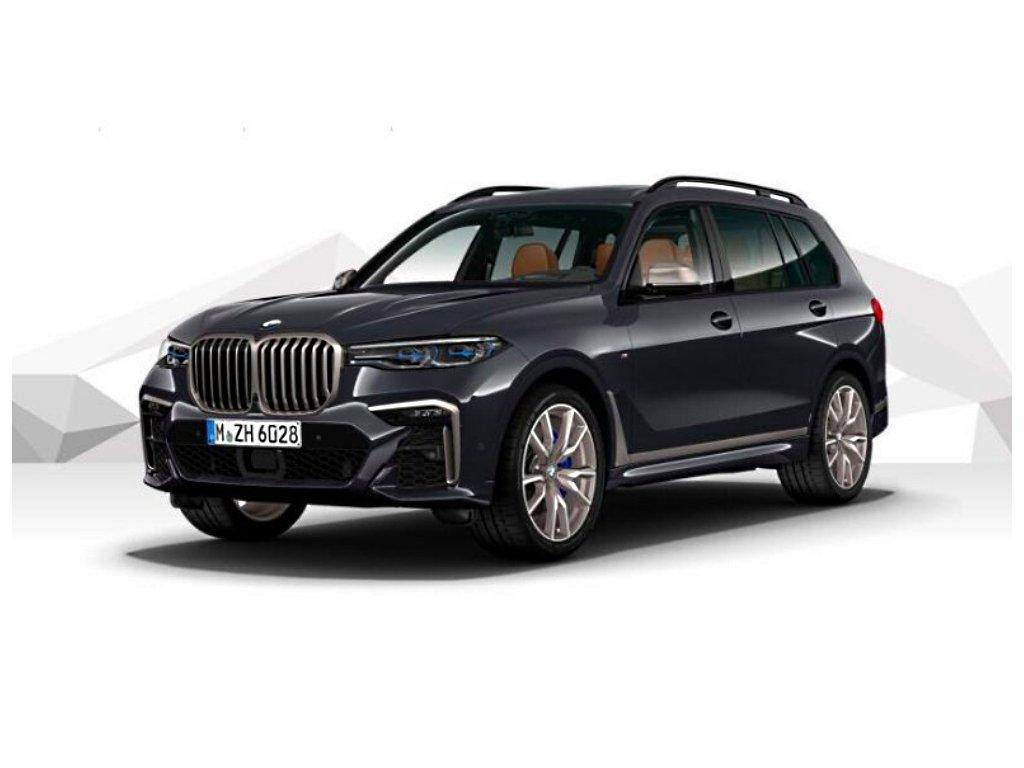 BMW X7 M50d xDRIVE Mpaket - šedá metalíza arctic