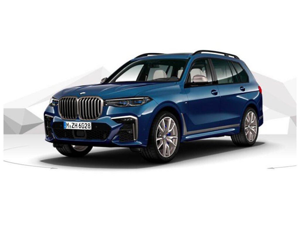 BMW X7 M50d xDRIVE Mpaket - modrá metalíza phytonic