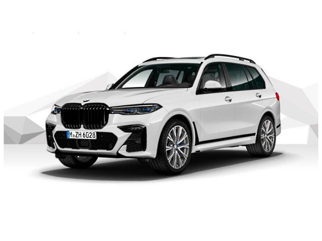 BMW X7 M50d xDRIVE Mpaket - bílá metalíza mineral