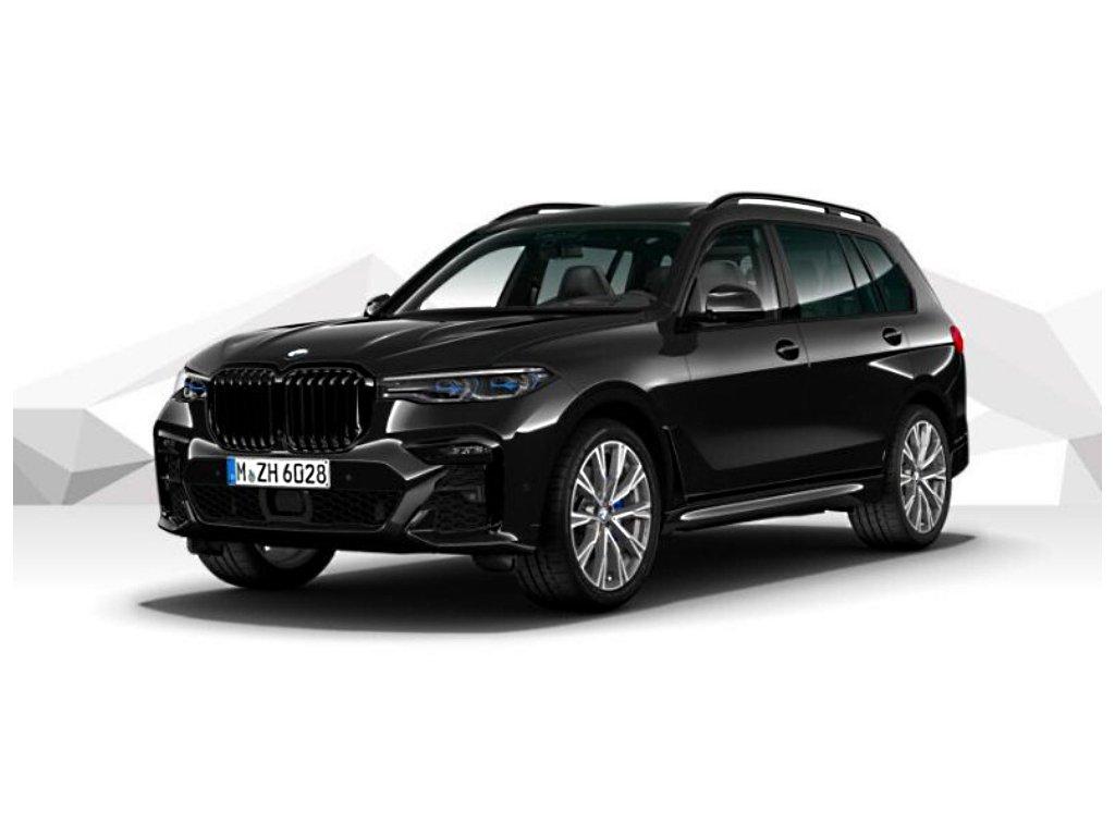 BMW X7 M50d xDRIVE Mpaket - černá metalíza sapphire