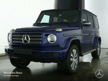 MERCEDES-BENZ G 350d 4MATIC AMG - modrá metalíza brilliant