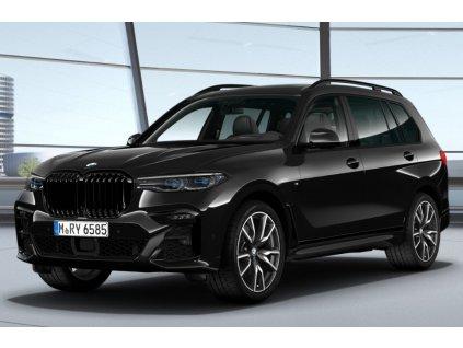 BMW X7 40d xDRIVE Mpaket - černá Black Saphire